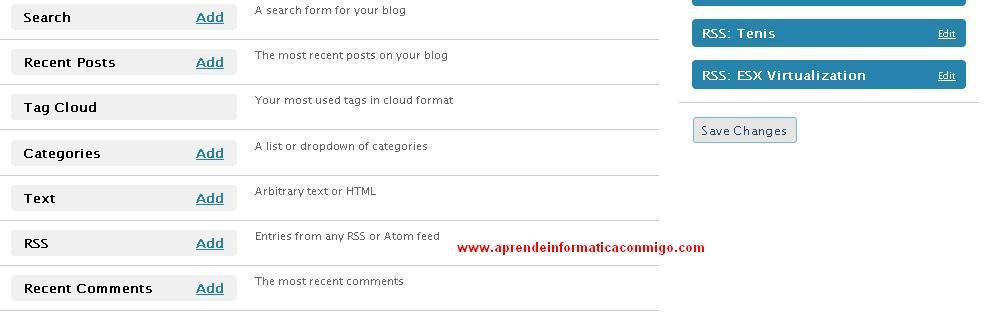 Noticias RSS en nuestro blog