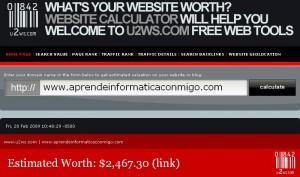 ¿Quieres saber cuánto vale tu blog?