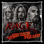 "Nuevo EP de Rage – ""Never give up"""