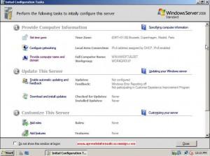 Windows Server 2008 – Configuracion de red