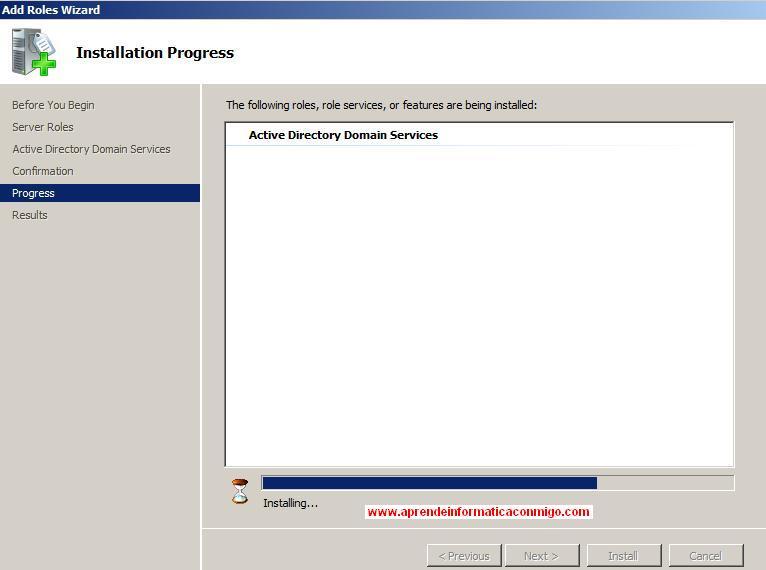 Crear un Controlador de Dominio ,Instalar Active Directory