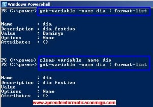 Powershell – 12 – cmdlets para manejar variables