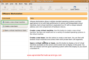 Instalar Ubuntu Server 9 en Vmware Workstation (1)