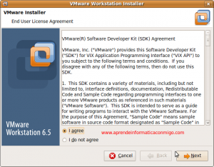 Instalar Vmware Workstation en Ubuntu 9 Desktop