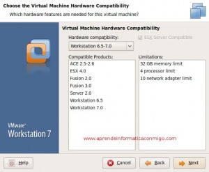VmWare Workstation 7 compatible con ESX 4.0