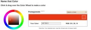 Colores: Sus nombres y codigos para la web