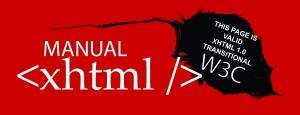Manual XHTML online