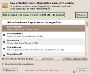 Actualizar a Ubuntu Desktop 10.04