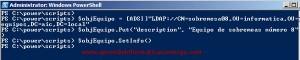 Windows Server 2008 – Configurar atributos de equipo con Powershell y VBScript