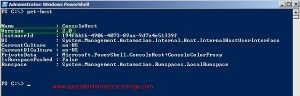 Conocer la version de Windows Powershell que tenemos instalada