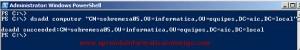 Windows Server 2008 – Crear cuentas de equipo con Dsadd