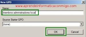 Windows Server 2008 – Añadir miembros mediante GPO