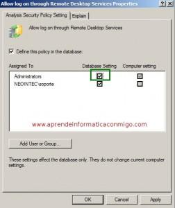 Windows Server 2008 – Analizar la configuracion de la plantilla de seguridad – Parte 2