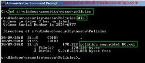 Windows Server 2008 – Utilizando scwcmd