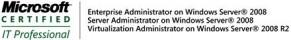 MCITP Server Administrator, Enterprise Administrator y Virtualization Administrator