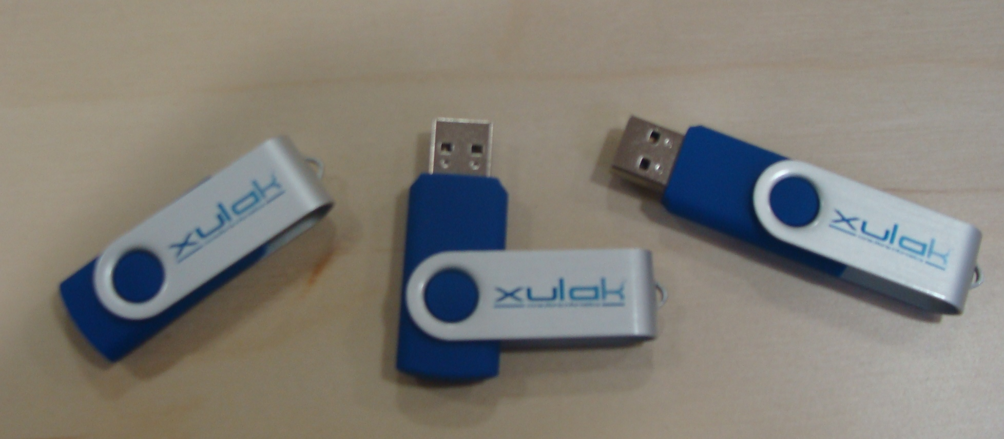 Sorteo 3 pen drives usb - XULAK IT