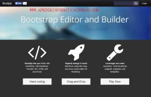 Bootply – El jsfidde para bootstrap