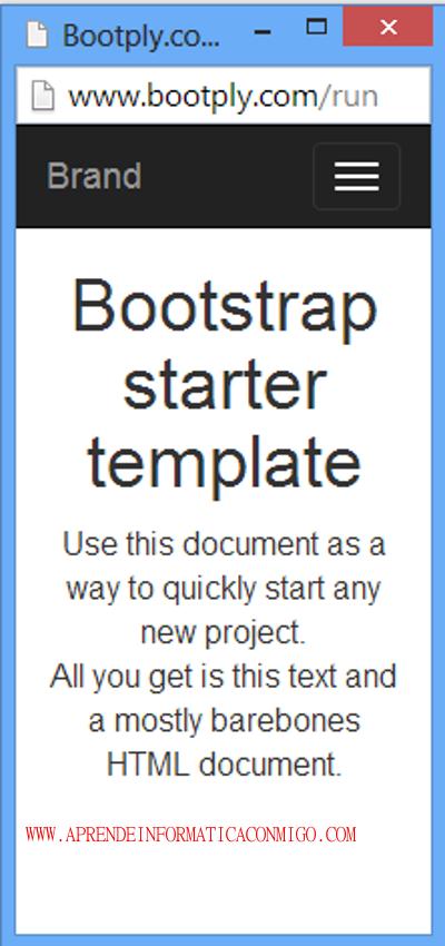 Bootply - El jsfidde para bootstrap