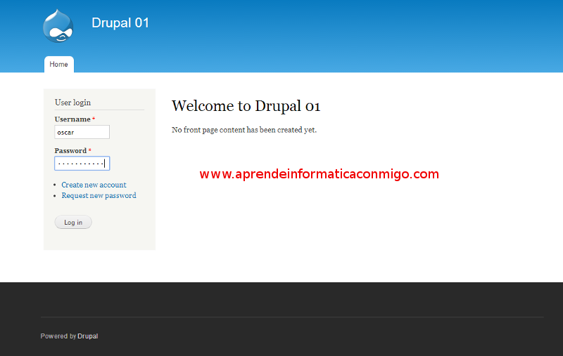 Drupal 7 - Cambiar idioma a Español