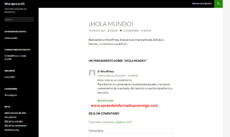Curso de WordPress - 01 instalacion